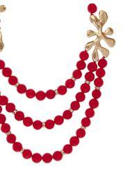 Oscar de la Renta - Red Sea Tangle Necklace - Lyst