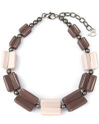 Diana Broussard - Multicolor Jaden Lego Necklace - Lyst