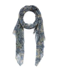 Me and Kashmiere - Green Cascade Cashmere Scarf - Lyst