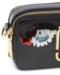 Marc Jacobs | Black Vintage Collage Snapshot Cross Body Bag | Lyst