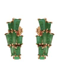 Nak Armstrong - Multicolor Rose Gold Ear Jacket Earrings - Lyst