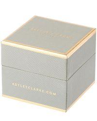 Astley Clarke - Metallic Rose Gold Sapphire Mini Interstellar Stud Earrings - Lyst