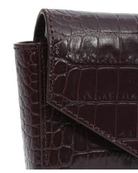 Givenchy - Multicolor Crocodile-embossed Leather Clutch Bag - Lyst