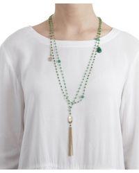 Rosantica - Green Quartz Favoloso Necklace - Lyst