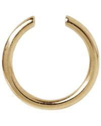 Maria Black - Metallic Gold-plated Twin Mini Ear Cuff - Lyst