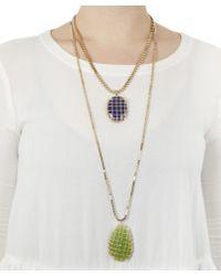 Rosantica - Multicolor Segreto Double Layer Quartz Necklace - Lyst