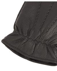 Dents Black Deerhurst Leather Gloves for men