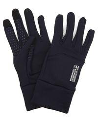 WOOD WOOD Blue Holger Tech Gloves for men