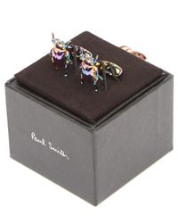 Paul Smith Multicolor Beetle Cufflinks for men