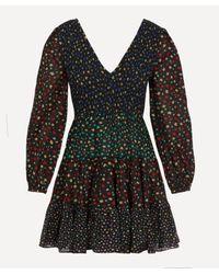 Rixo Black Sasha Dress