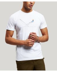 Norse Projects White Daniel Frost Hanging T-shirt for men