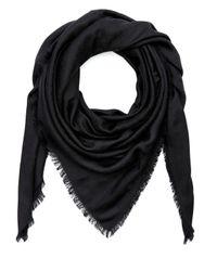 Liberty Black Iphis 150x150 Jacquard Silk Blend Scarf