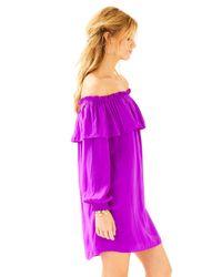 Lilly Pulitzer - Purple Dee Dee Dress - Lyst