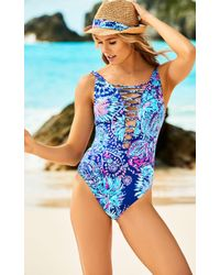 Lilly Pulitzer - Natural Poolside Hat - Lyst