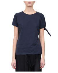 J.W. Anderson - Blue Single Knot Cotton T-shirt - Lyst
