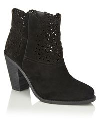 Jessica Simpson | Black Ankle Boots | Lyst