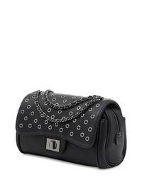 Marc B. | Black Handbag With Cross Body Chain | Lyst