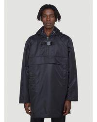 1017 ALYX 9SM Black Oversized Pullover Jacker for men