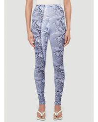 Maisie Wilen Purple Body Shop Leggings