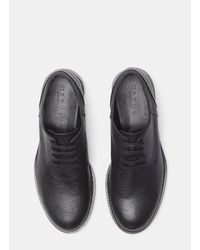 Marni - Speckled Leather Lace-up Brogue Shoes In Black for Men - Lyst