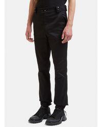 Raf Simons Cargo Pants In Black for men