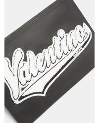 Valentino Medium Clutch In Black