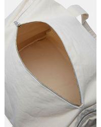 Camiel Fortgens Men's Canvas Sports Bag In Off-white for men