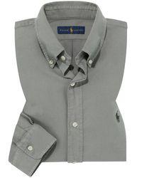 Polo Ralph Lauren Casualhemd in Gray für Herren