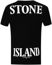 Stone Island T-Shirt in Black für Herren
