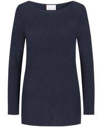 Lodenfrey Blue Cashmere-Pullover