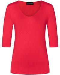 Emporio Armani Red T-Shirt