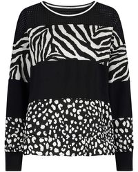 Marc Cain Black Sweatshirt