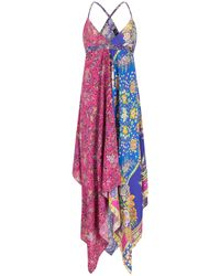 Etro Purple Kleid