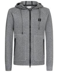 Woolrich Wofel Sweatjacke in Gray für Herren