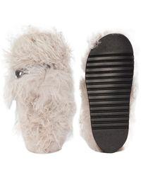 Dorothee Schumacher Multicolor Furry Softness Sandalen