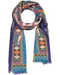 Etro Blue Schal