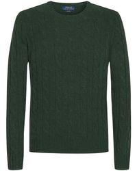 Polo Ralph Lauren Cashmere-Pullover in Green für Herren