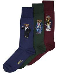 Polo Ralph Lauren Socken 3er-Set in Blue für Herren