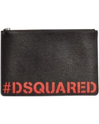 DSquared² Pochette in Black für Herren