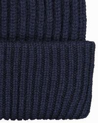 Woolrich Blue Cashmere-Mütze