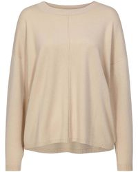 Allude Natural Pullover