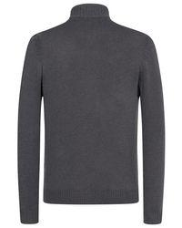 Brioni Cashmere-Strickjacke in Gray für Herren