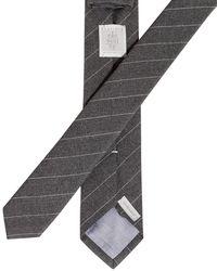 Eleventy Krawatte in Gray für Herren
