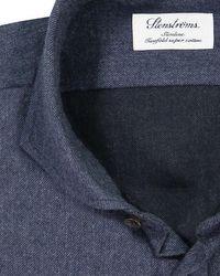 Stenstroms Casualhemd Slimline in Blue für Herren