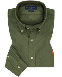 Polo Ralph Lauren Casualhemd Slim Fit in Green für Herren