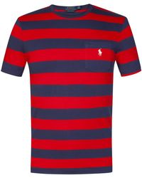 Polo Ralph Lauren T-Shirt in Red für Herren