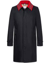 Burberry Pimlico Mantel in Black für Herren