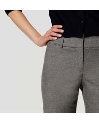 """LOFT - Gray Trousers In Julie Fit With 31"""" Inseam - Lyst"""