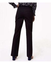 LOFT Black Tall Trousers In Custom Stretch In Curvy Fit