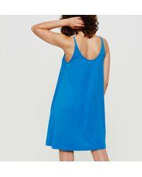 LOFT - Blue Lou & Grey Bare Swing Dress - Lyst